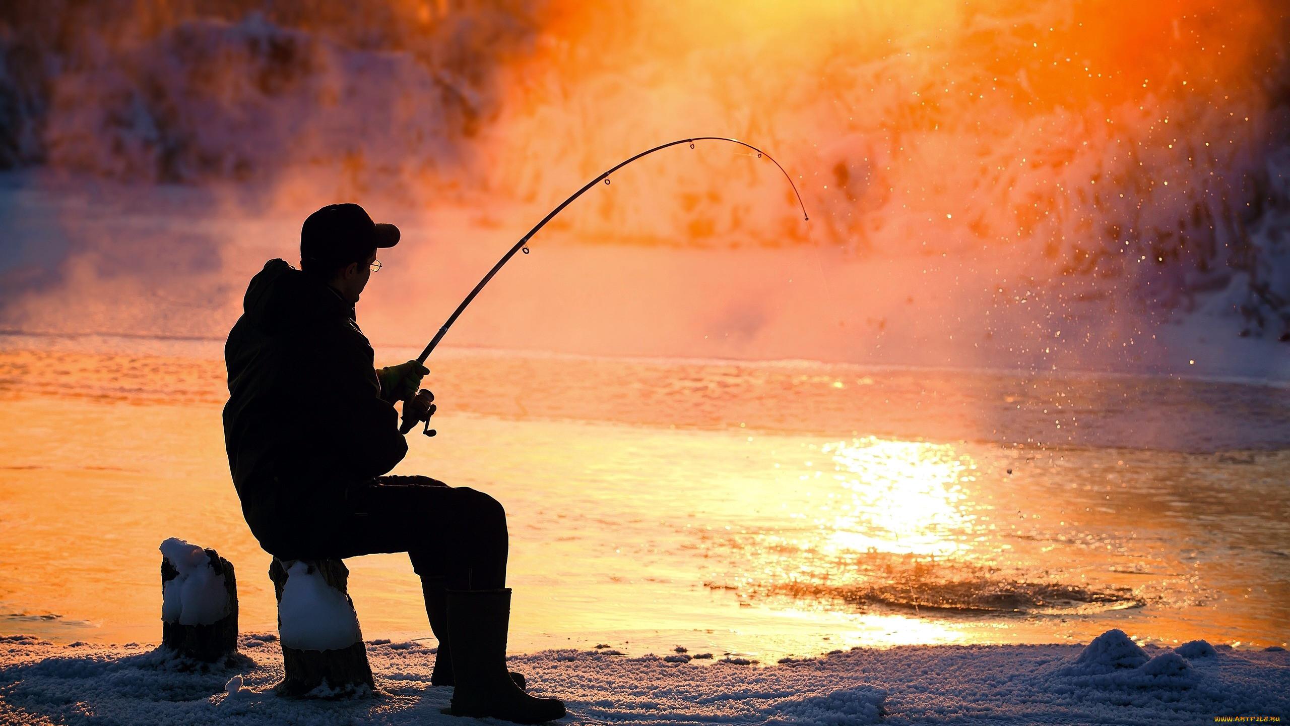 даже картинки разных рыбалок терпит когда
